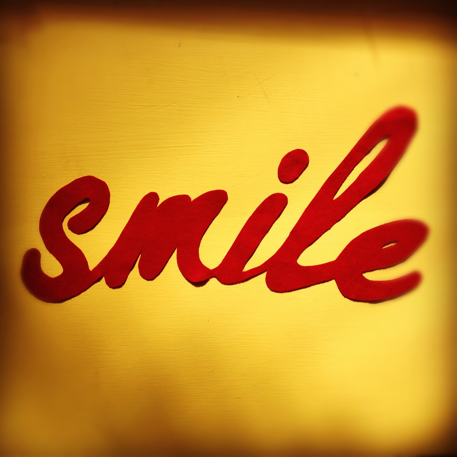 the word what isn t there to like about thatThe Word Smile