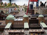iniatur Wunderland - Hamburg Landing Stages