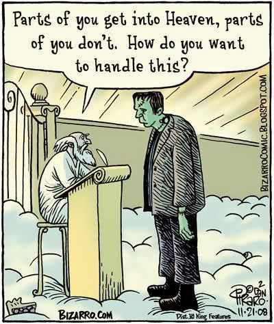 Frankenstein and St Peter