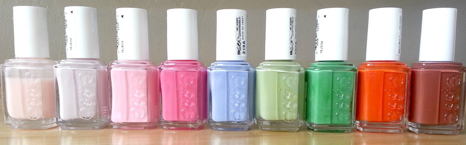 LuceeLoves: My Discounted Essie Nail Polish Collection