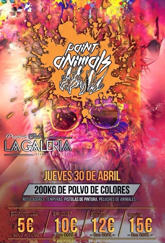 paint animals la galeria jerez