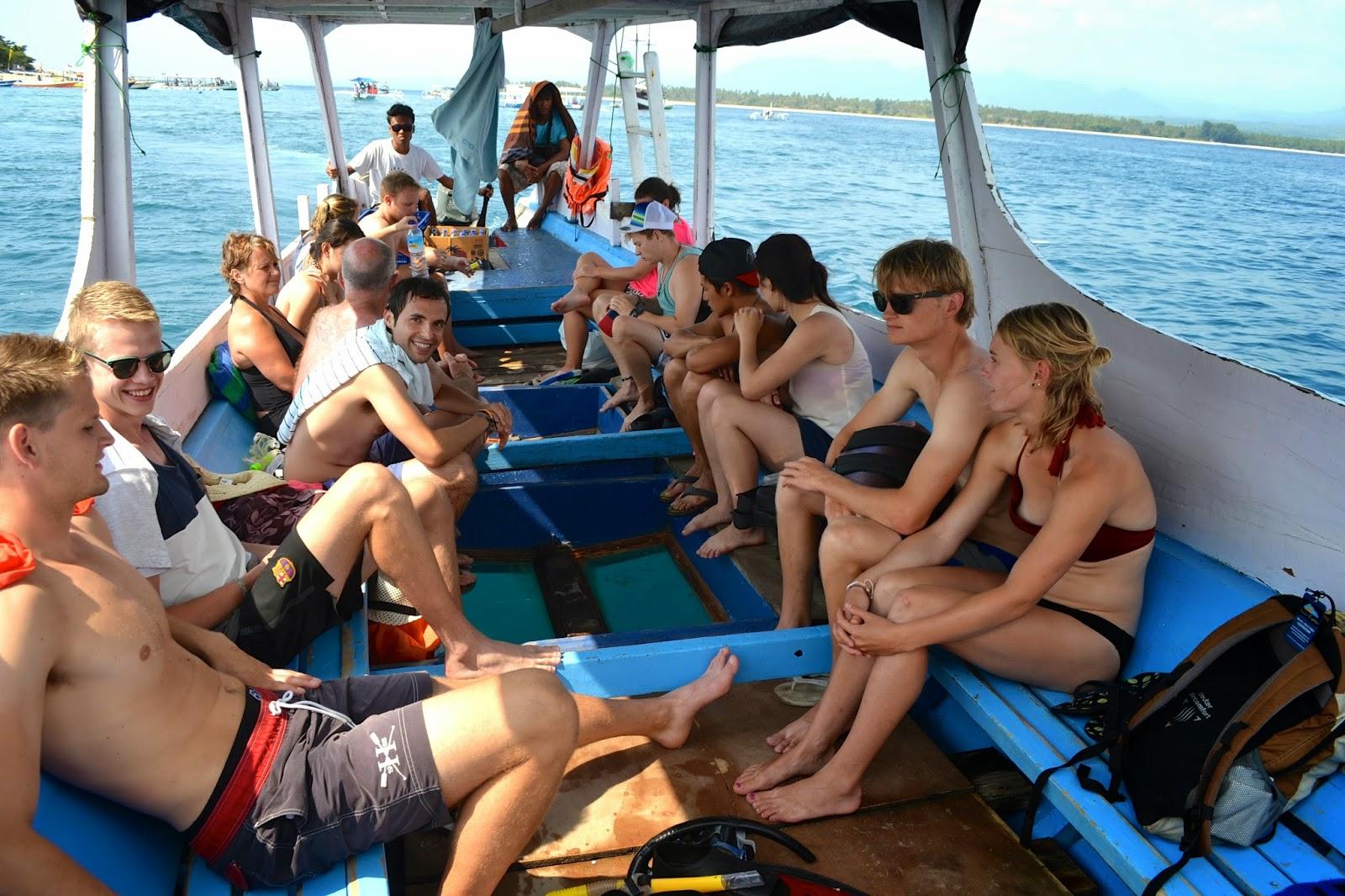 excursión de buceo en islas Gili, Indonesia