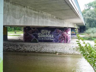 Graffiti, Streetart, Brudermühlbrücke