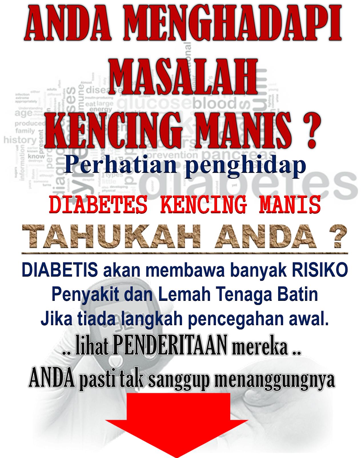 PENGAKUAN PESAKIT DIABETES