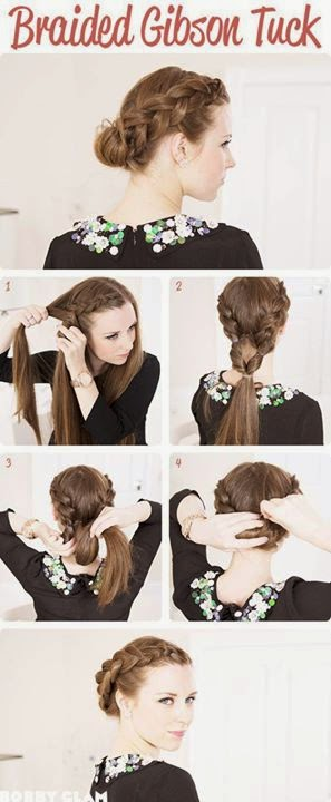 Step by Step Hair Style Turorial