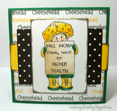 Packer Tickets - Peachy Keen Stamps