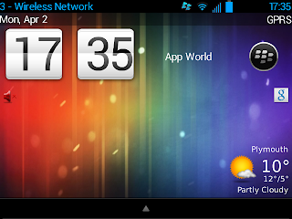 De_Nex7 theme for BlackBerry