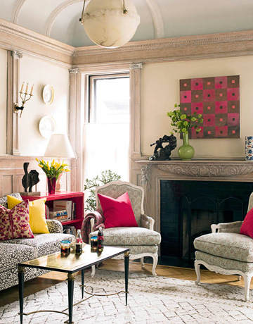 Decorating Your Interiors With Pink And Grey