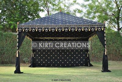 Impressive Wedding Tent