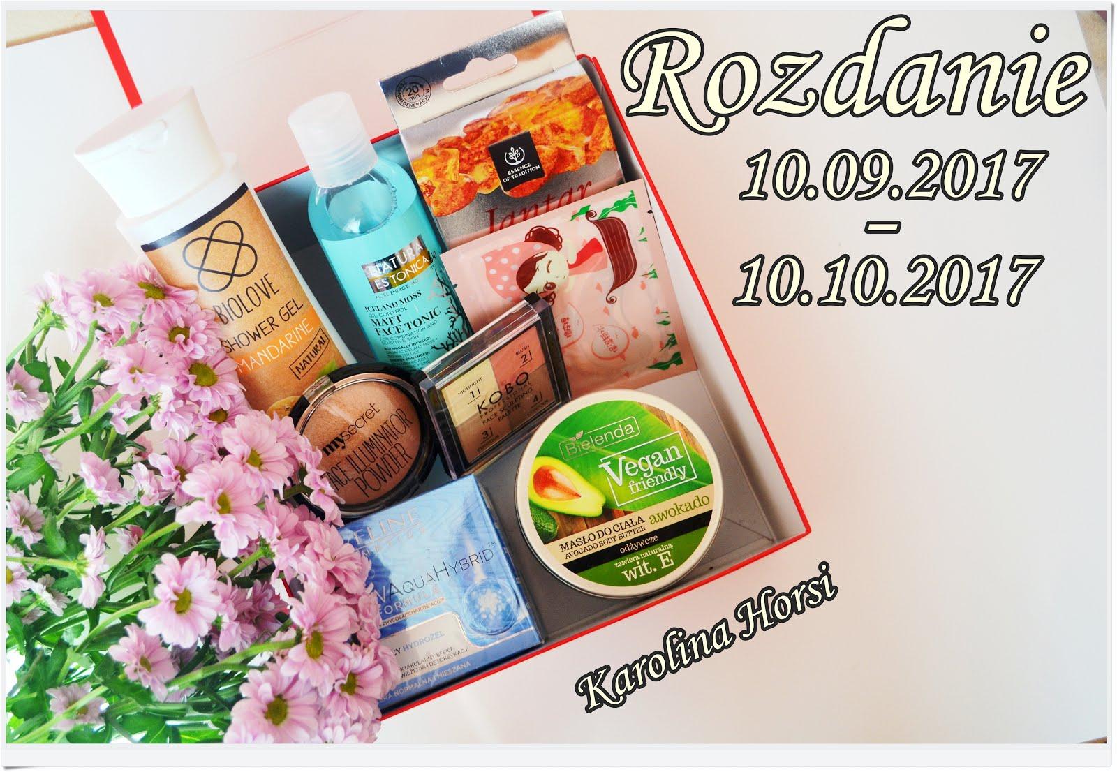 Rozdanie - wygraj kosmetyczny box