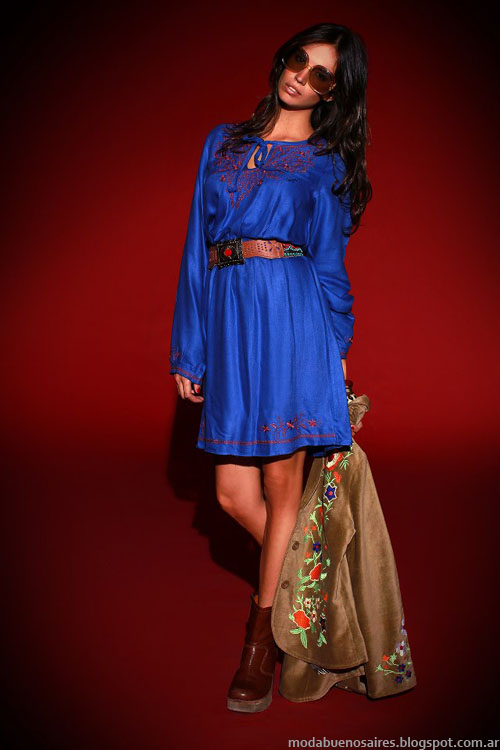 Vestidos invierno 2013 Sophya moda 2013