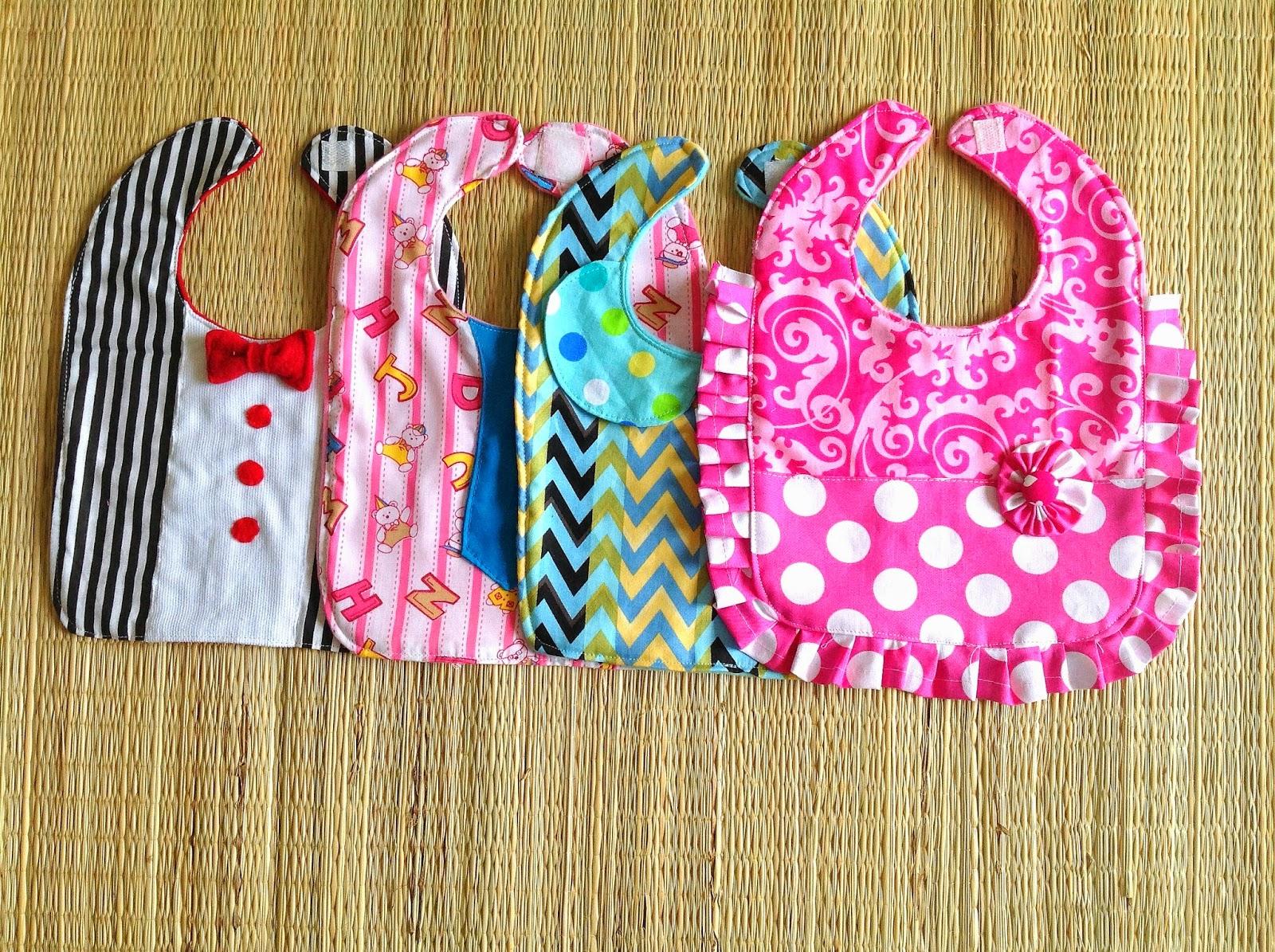 Bib sewing pattern boy s and girl s bib baby toddler bib sewing