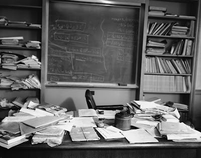 Einstein's princeton office