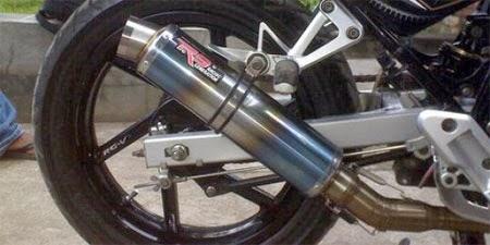 Pengaruh Knalpot Racing Motor