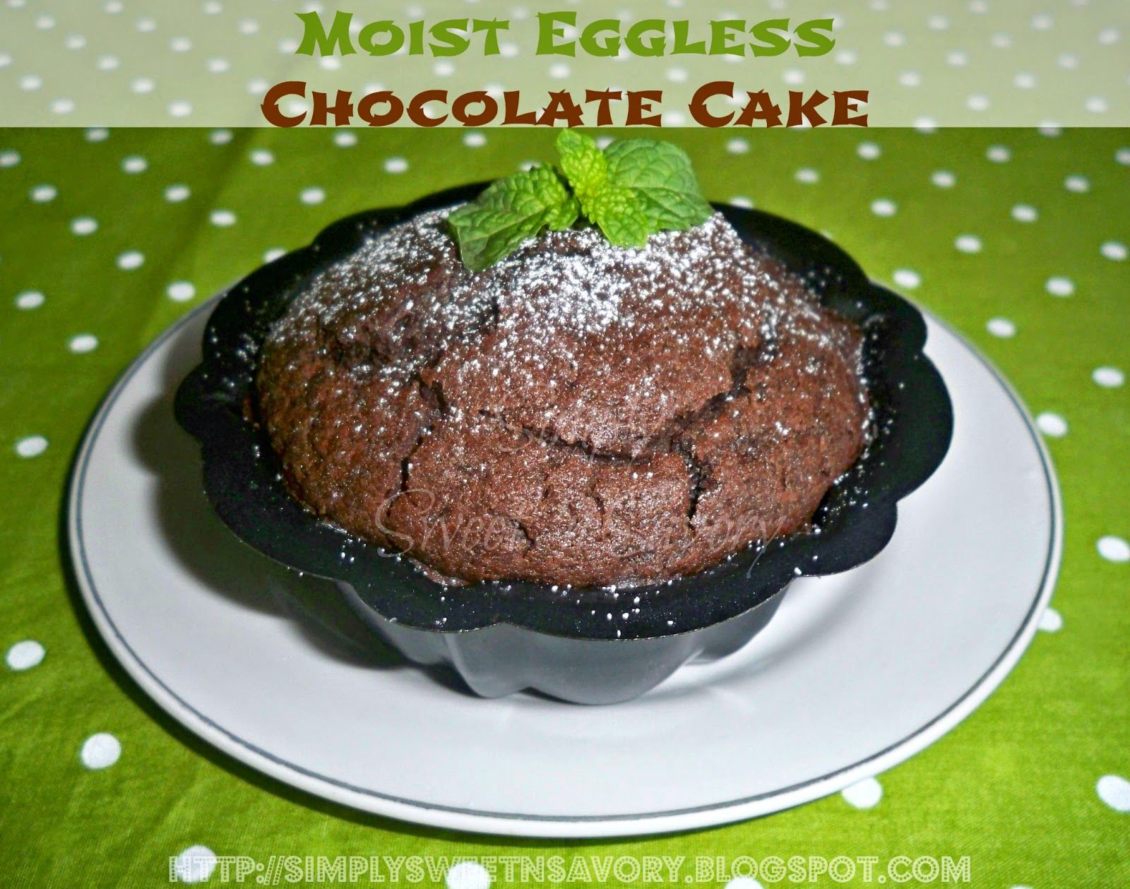 Images Of Eggless Chocolate Cake : Simply Sweet  n Savory: Moist Eggless Chocolate Cake