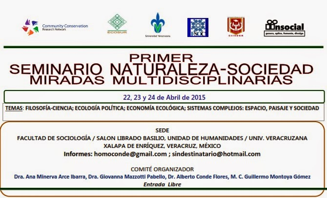 Primer Seminario Naturaleza-Sociedad. Miradas Multidisciplinarias
