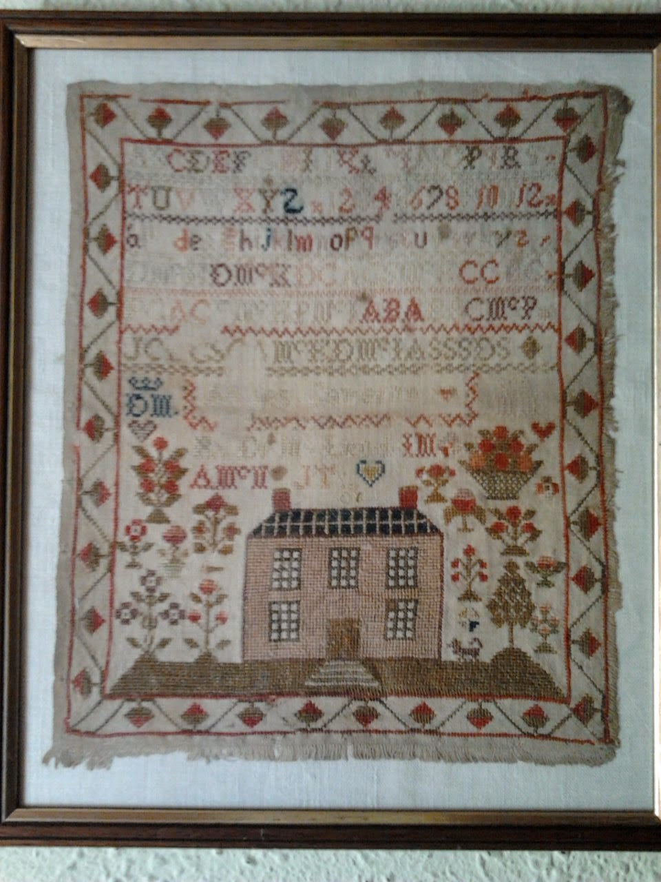 ANTIQUE SAMPLER del año1830