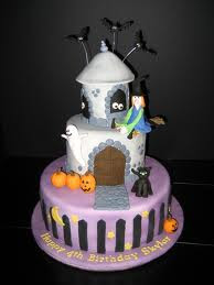 Special Halloween Birthday Cakes