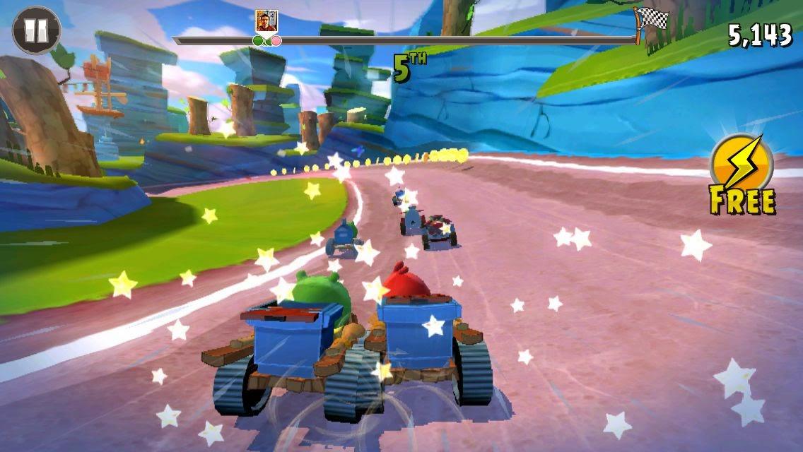 Angry Birds Go! juego de carreras