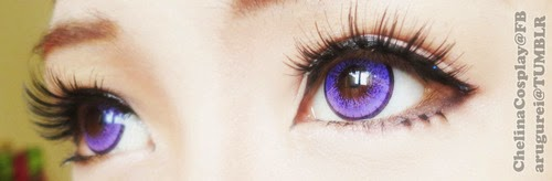 Bright & Dolly Eyes: Dolly Eye Blytheye Violet Colored Lenses