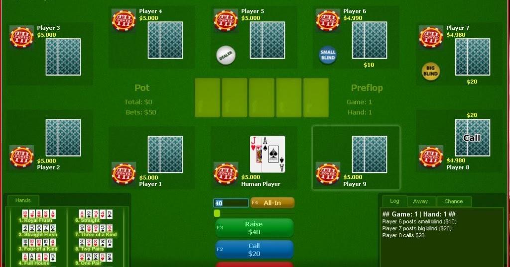 Main game poker gratis