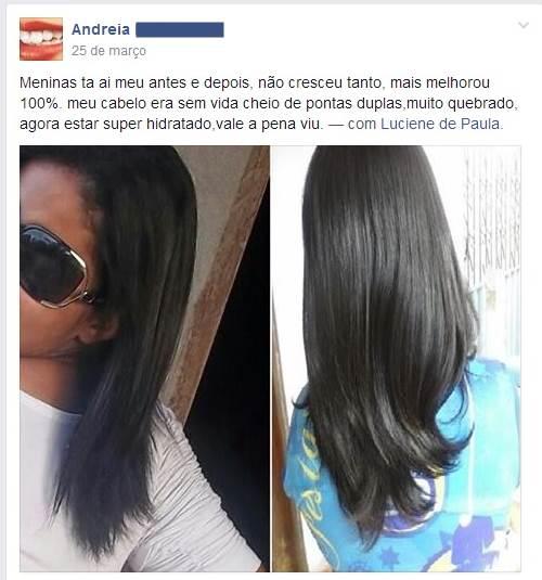 Fotos do Cabelo da Andréia