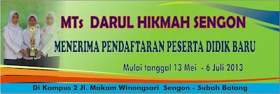 MTs Darul Hikmah Sengon Subah