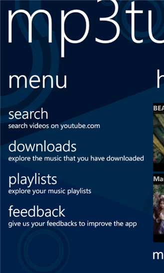 how to download mp3 songs in windows phone