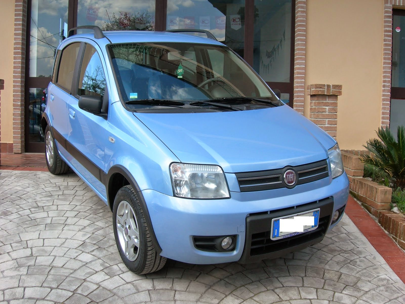 Fiat Panda 1.2 Natural Power Metano Climbing Anno 2008 Acc.Full optional con 90.000 km