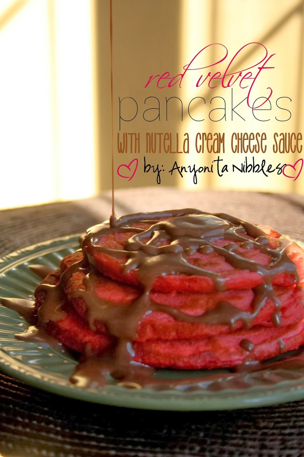 http://www.anyonita-nibbles.co.uk/2014/01/valentines-red-velvet-pancakes-nutella-cream-cheese-sauce.html