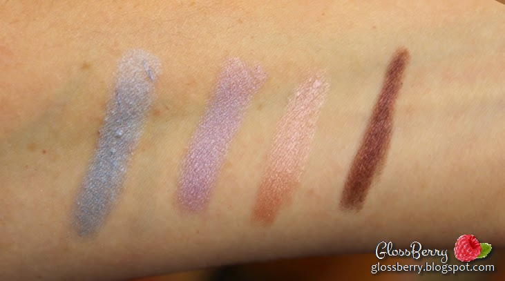 eyeshadow shadow sticks twist up clinique bountiful beige ample amber kiko emerald mauve passion fruit green iris grey estee lauder pink shell laura mercier mint snow jordana eye fixation forever lavender blue crush elf jumbo eyeshadow stick feeling lucky review swatches  צלליות סטיק מסתובבות קיקו קליניק לאורה לורה מרסייה אלף ג'ורדנה  בלוג איפור וטיפוח גלוסברי glossberry