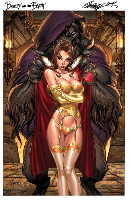 Sexy Fairy Tale girls by J Scott Campbell.