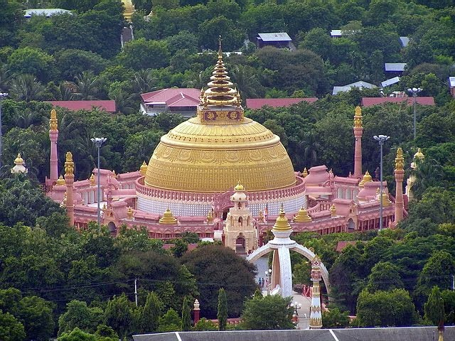 วิวจากสกายฮิล ใกล้เมืองมัณฑะเลย์ พม่า