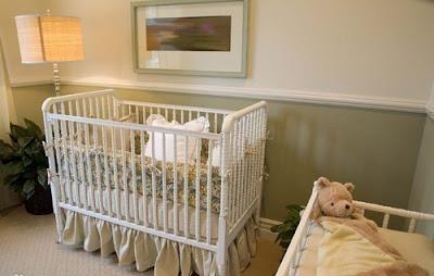 dormitorio bebé colores naturales