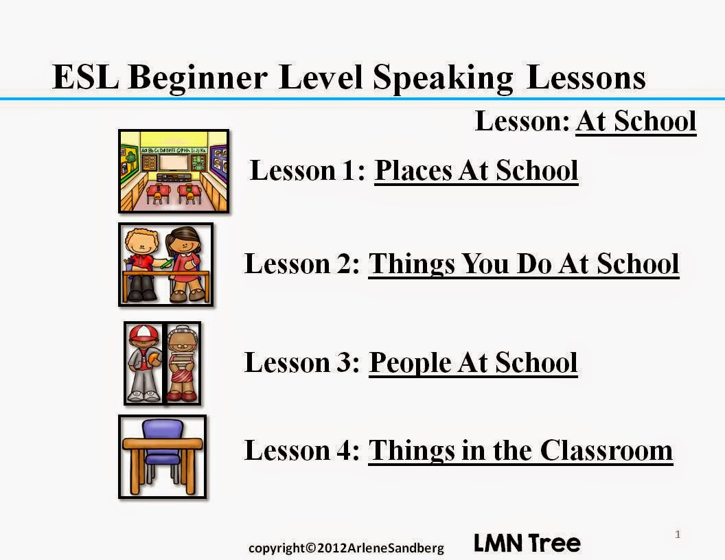 Need to new lesson for ESL student?