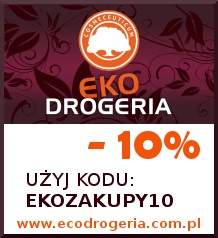 Kod rabatowy 10% do Ekodrogeria