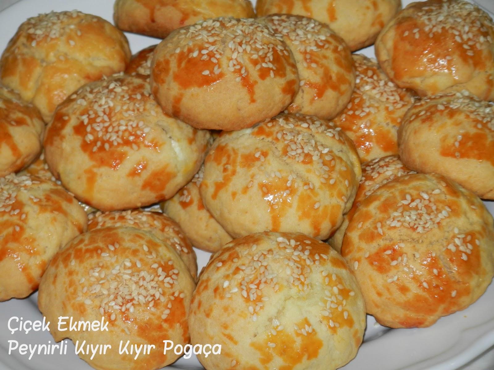 Peynirli Patatesli Çiçek Ekmek