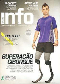 Revista Info Exame Superação Ciborgue
