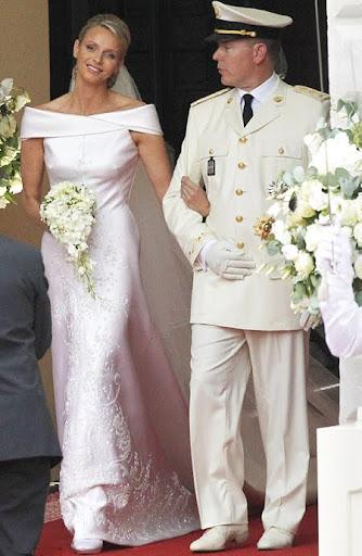 Монако Сватбата на Албер и Шарлийн