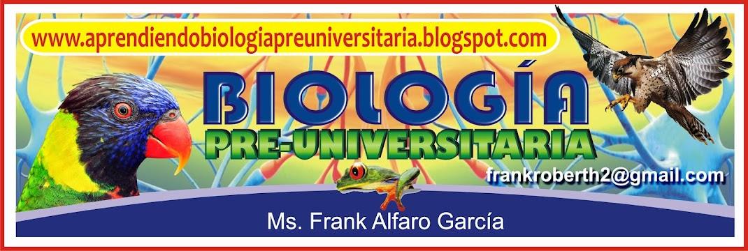 APRENDIENDO BIOLOGIA PREUNIVERSITARIA