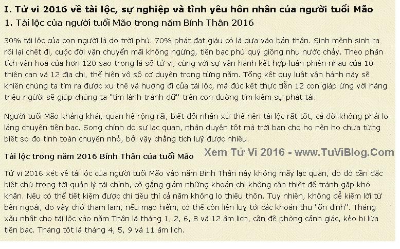 Van Menh Nguoi Tuoi Mao