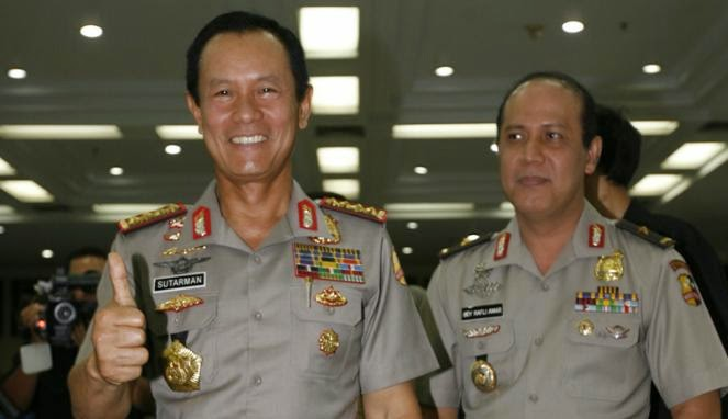 Kapolri Jenderal Pol Sutarman