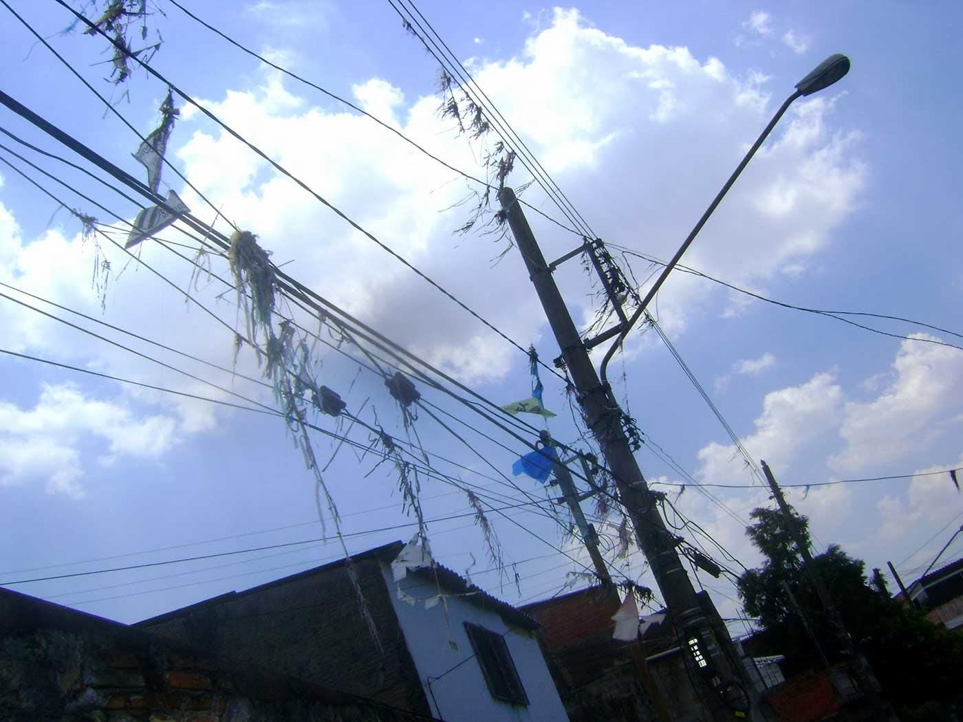 Vila Santa Isabel, Zona Leste de São Paulo, pipas e rabiolas, fios elétricos, Vila Formosa, Vila Carrão