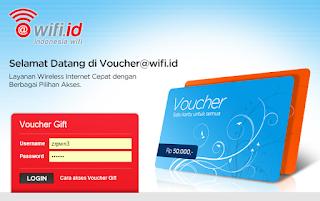 cara membuat akun voucher gift wifi.id