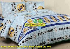 Harga Sprei Bola Real Madrid Uk. 160 Jual