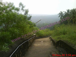 Beautiful Views from Eruthavoor Muruga Temple on a Hillock in Balaramapuram Thiruvananthapuram Kerala