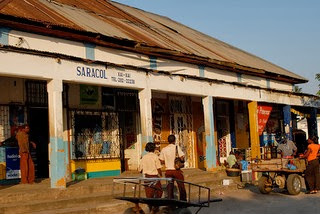Market in Xai-Xai which is a city in the south of Mozambique photo by F H Mira