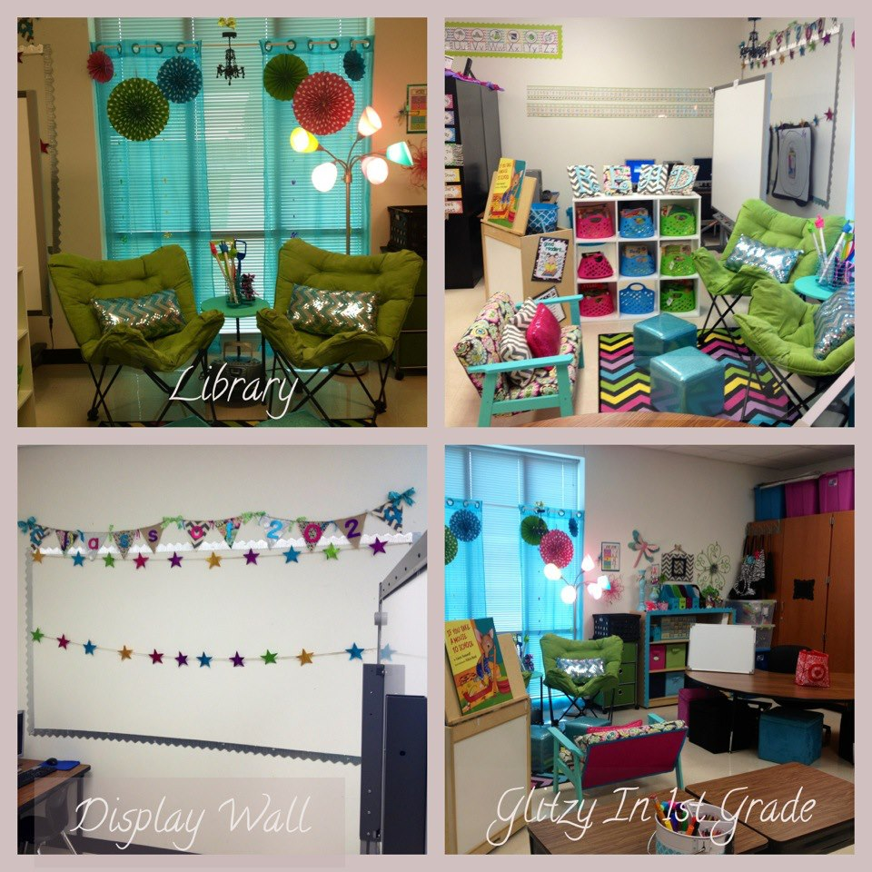 Classroom Decor For Grade 5 ~ Glitzy in st grade classroom decor