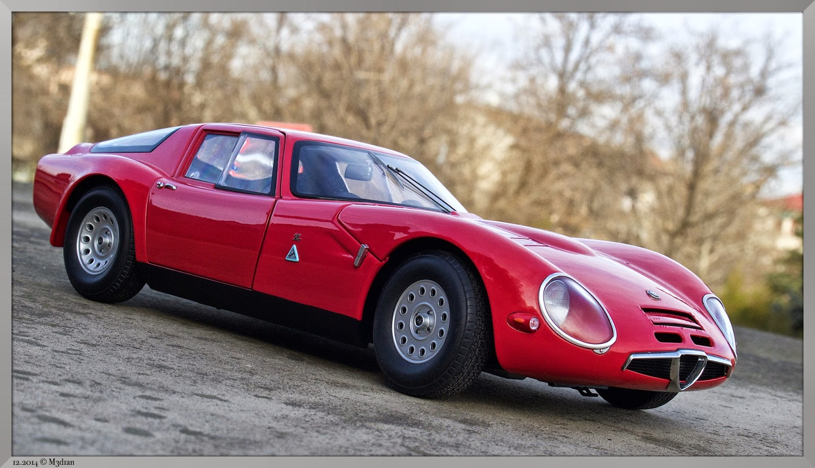 M3d1ans Miniatures Alfa Romeo Giulia TZ2