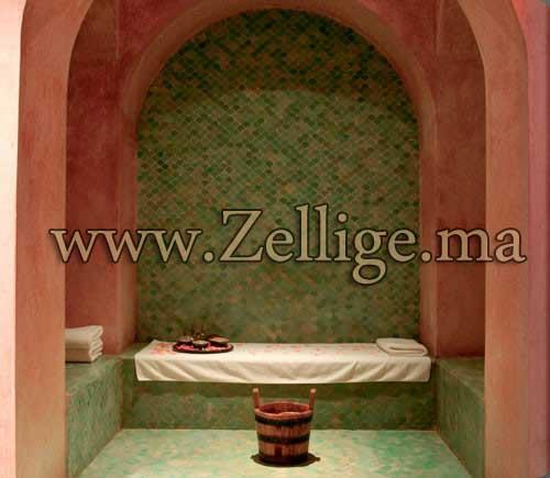 Salle De Bain Marocaine Traditionnelle : Des Merveilleux Hammam en zellige 2013 – hammam Marocain
